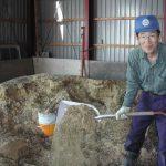 発酵有機肥料作り