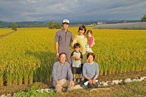 今橋農園家族写真